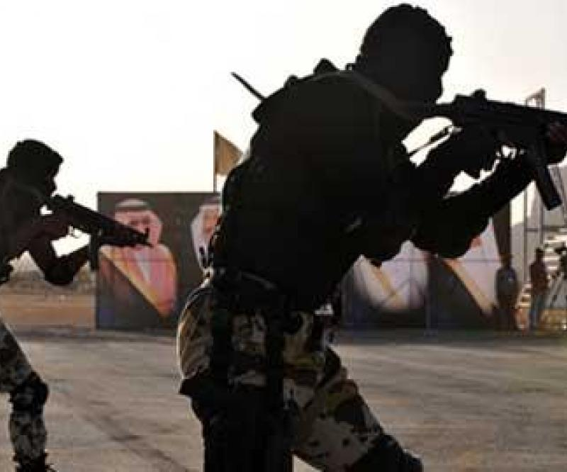 Anti-Terror Training for Saudi Special Forces