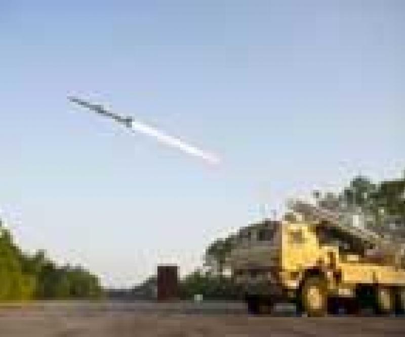 Test Firings for Raytheon's SLAMRAAM
