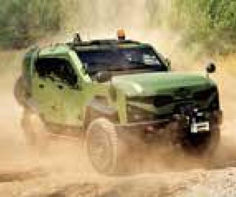 Oshkosh Introduces SandCat Tactical Protector Vehicle
