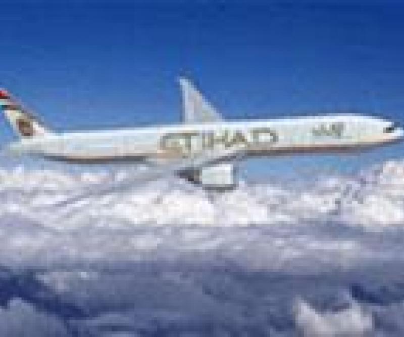 Etihad Q1 Revenues Up 21%