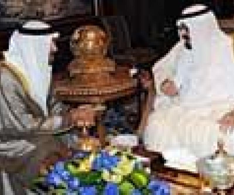 Saudi King & Mohammed Bin Zayed Meet in Riyadh