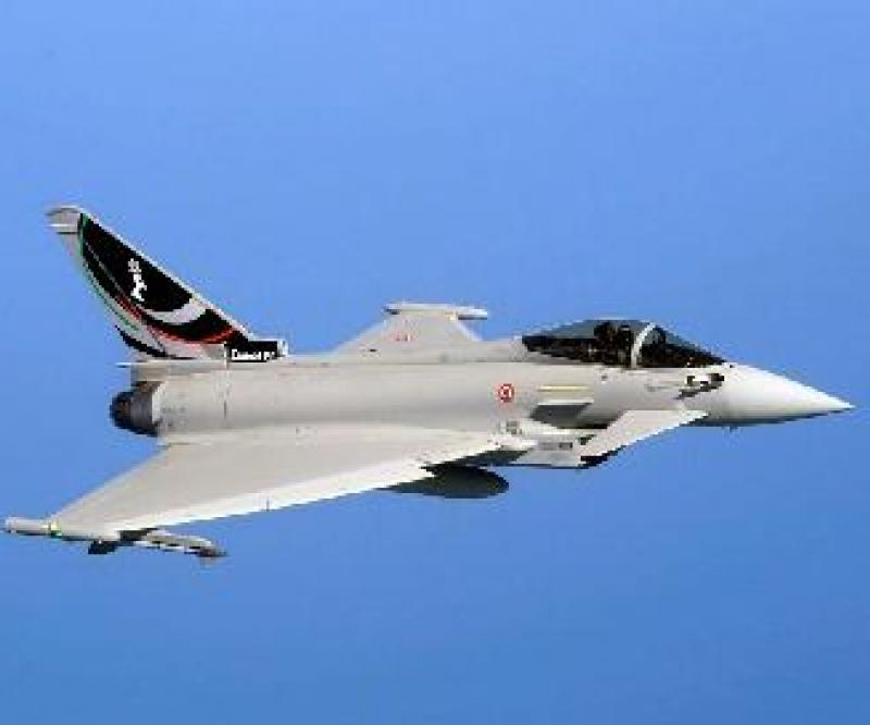 The Italian Air Force 4th Stormo reach 10,000 hours with the Eurofighter Typhoon