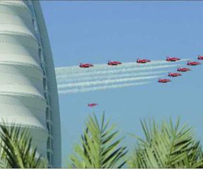 F-22 Raptor Fighter at Dubai Airshow