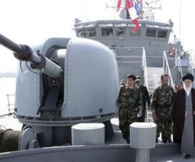 Iran Launches First-Built Destroyer
