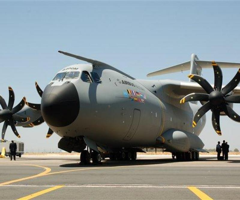 EADS Accepts A400M Financing Offer