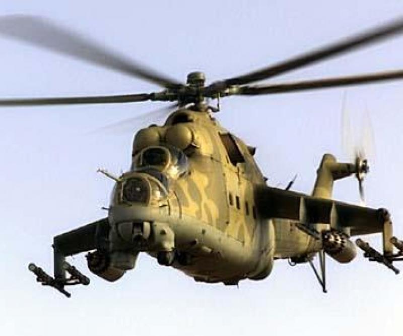 10 Mi-24 Helicopters to Lebanon