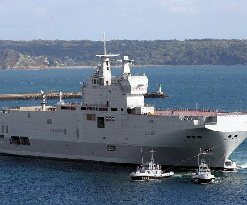 France in Talks with Russia on 4 Warships