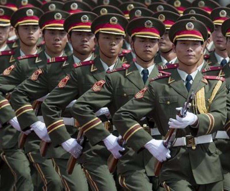 China's Defense Spending Slower