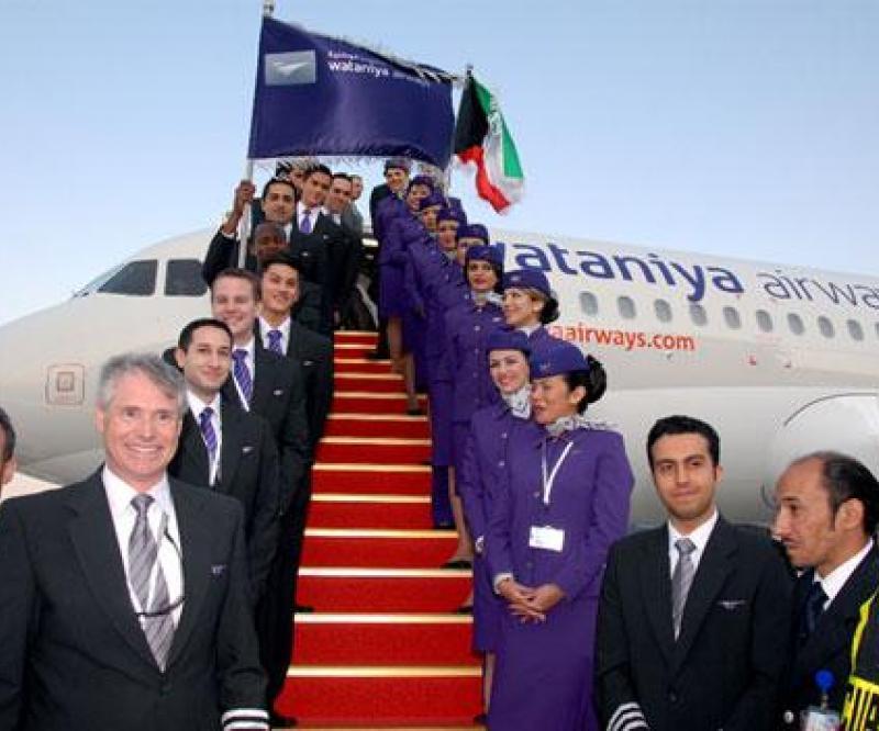 5th Aircraft Joins Wataniya's Fleet
