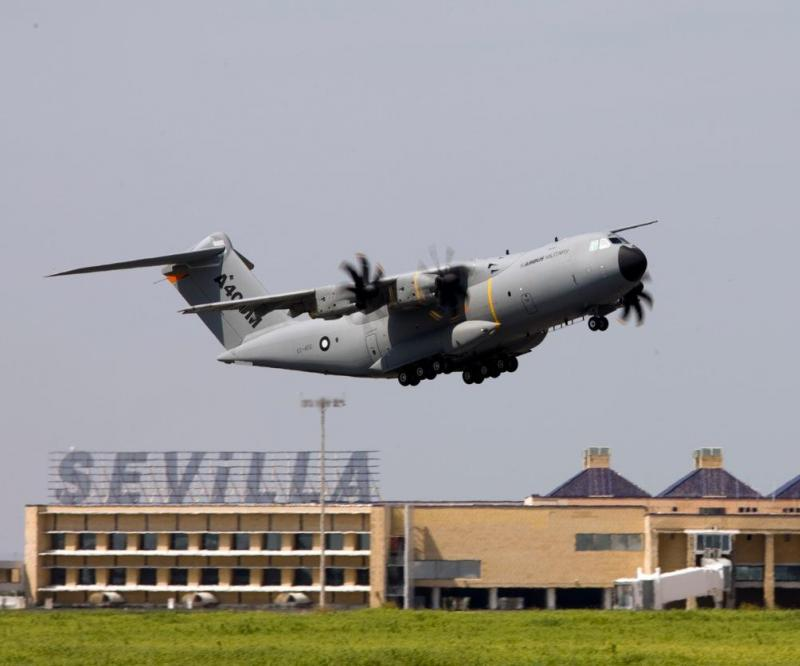 Second Airbus Military A400M completes maiden flight