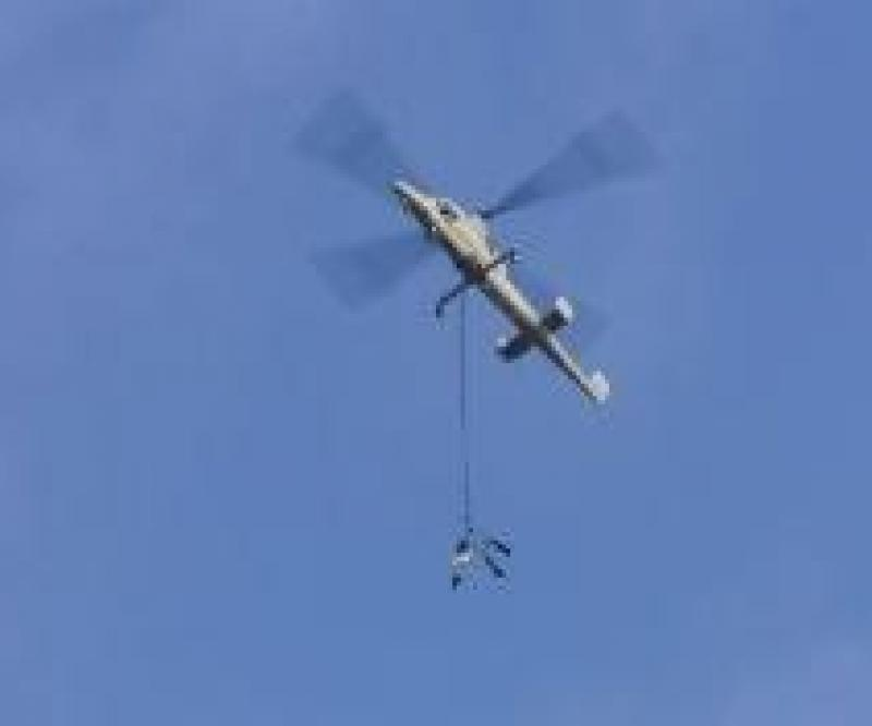 Kaman: Cargo Airdrop Tests With Unmanned Helicopter