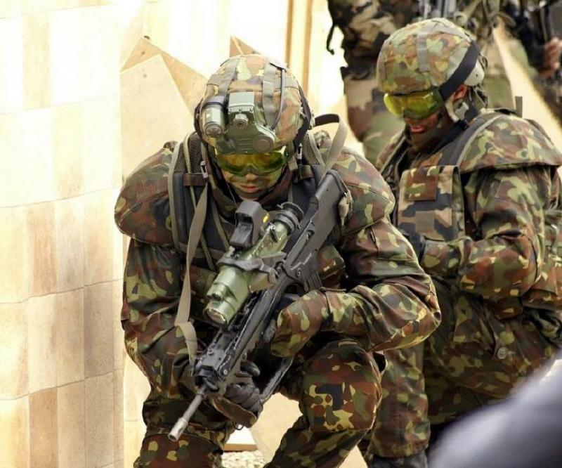 GD UK: Dismounted Soldier System at SOFEX 2010