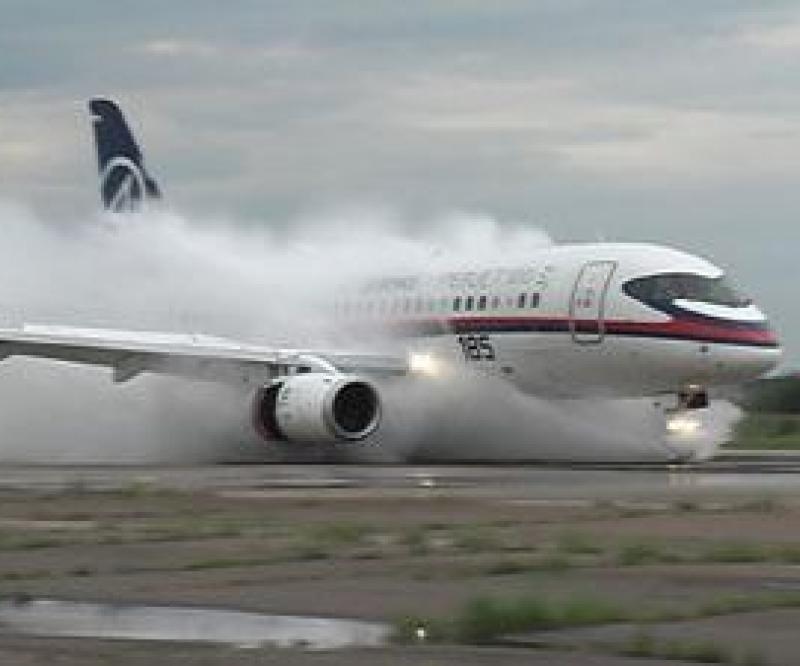 Sukhoi Superjet 100 Completes Test