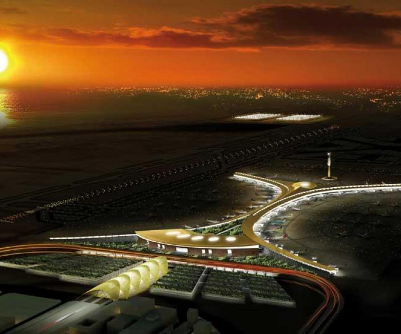 Jeddah Airport's New Terminal