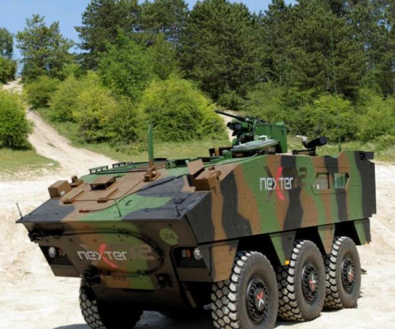 Second Trial for Nexter's XP2