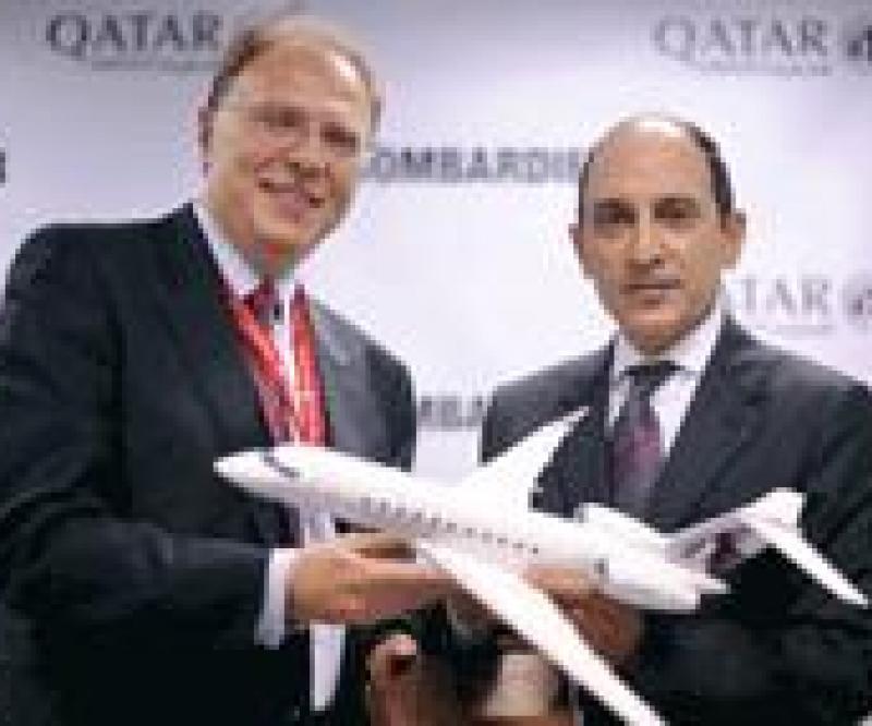 Qatar Orders 2 Bombardier Jets