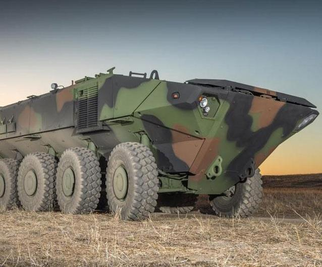 Amphibious Armoured Platform by Iveco Defence Vehicles Adopted by BAE Systems