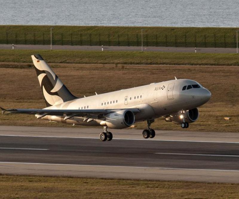 Al Jaber Aviation: 1st Airbus A318