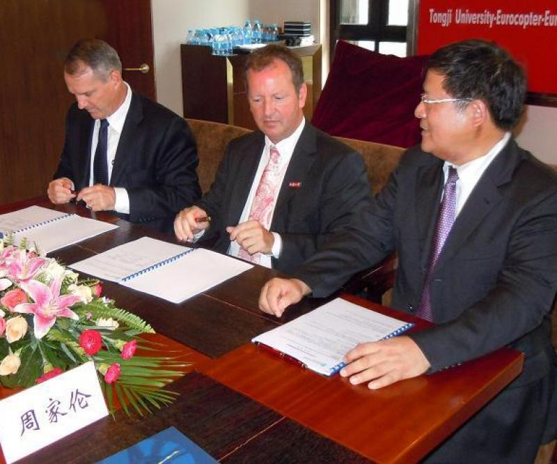 Eurocopter to Cooperate with Tongji University
