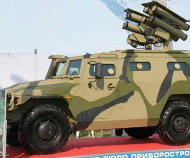 Russia Tests New 21st Century Anti-Tank Weapon System