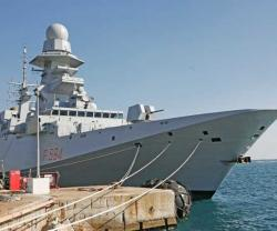 "Fincantieri Delivers FREMM '""Alpino"" to Italian Navy"