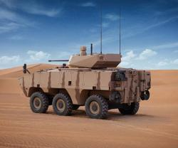 AL JASOOR Launches Rabdan 6x6 Infantry Fighting Vehicle at IDEX 2021