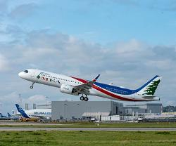 Airbus Delivers Third A320neo to Middle East Airlines