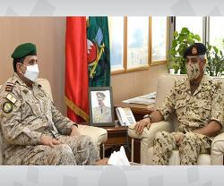 Bahrain's Chief-of-Staff Receives Commander of GCC Unified Military Command