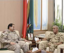 Bahrain's Chief-of-Staff Receives GCC Unified Military Commander