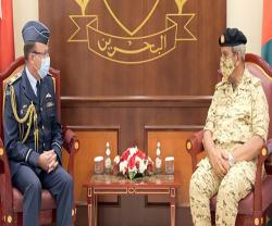 Bahrain's Commander-in-Chief Receives New Zealand's Air Force Chief