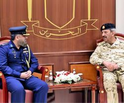 Bahrain's Commander-in-Chief Receives Pakistani Military Attaché