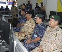 Bahrain's Defense Chief Visits GCC Unified Maritime Operations Center