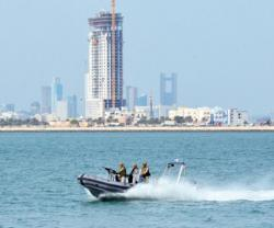 Bahrain's National Guard Executes Drill for Protecting Vital Marine Installations