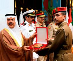 Bahrain's Royal Command, Staff & National Defence College Holds Graduation Ceremony