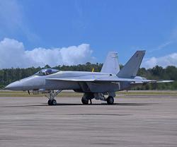 Boeing Delivers First Super Hornet Blue Angel Test Jet