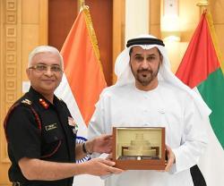 Delegation from National Defense College of India Visits UAE