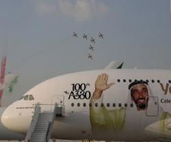 Dubai Airshow to Open Sunday