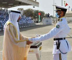 Dubai Crown Prince Attends Graduation at Rashid bin Saeed Al Maktoum Naval College