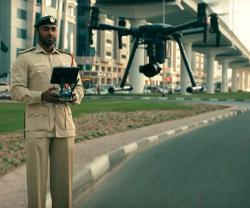 Dubai Police Use Drones to Boost Coronavirus Precautionary Measures