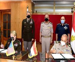 Egypt, U.S. National Guard Sign Partnership Declaration