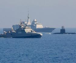 Egyptian, American Naval Forces Conduct Joint Drills in Red Sea