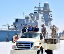 Egyptian President Inaugurates '3rd of July' Naval Base