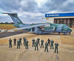 Embraer Delivers Third C-390 Millennium to Brazilian Air Force