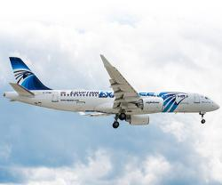 First EgyptAir A220-300 Makes Maiden Flight