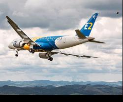 First Embraer E175-E2 Jet Completes Maiden Flight