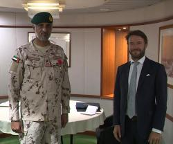 French President Awards 'Officer of Legion of Honor' to UAE Commander of Joint Operations