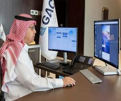 GACA's President Inaugurates Electronic Portal to Serve Passengers