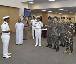 Head of North Korea's Civil-Military Operations Visits Oman