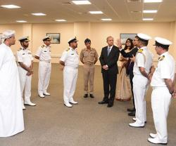 India's Deputy Security Adviser Visits Oman's Maritime Security Center