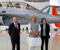 Indian, French Rafale Jets Start Joint Exercise in Rajasthan